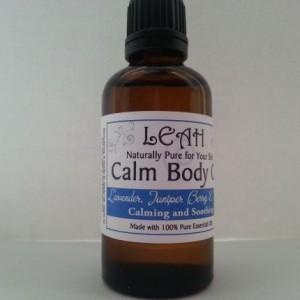 LEAH Calm Body Oil