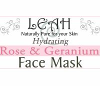 label face mask Rose geranium 200 x 172