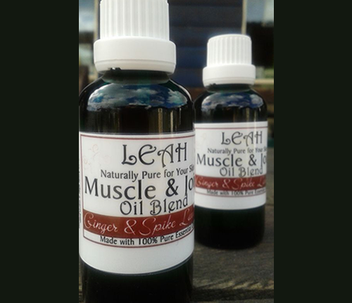 LEAH Muscle and Joint Oil Blend 500 x 430