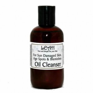 Leah Oil Cleanser for Sun Damaged Skin and Blemishes